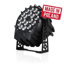 LED PAR 64 18x10W RGBW - produk polski