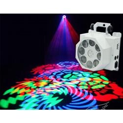 Efekt LED Magnum 8x3W SPOT GOBO White