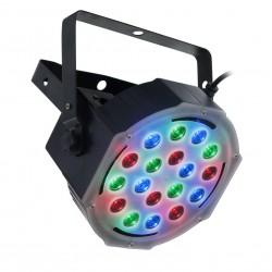 LED PAR 56 Slim - 18X3W RGB Aura - ver. II