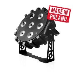 LED PAR 64 7x10W RGBW 4w1 - produk polski