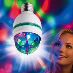 Żarówka DISCO LED obrotowa E27