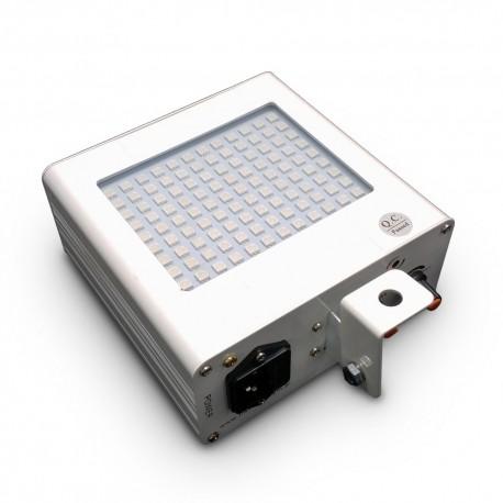 Bardzo mocny stroboskop LED RGB 108 diod