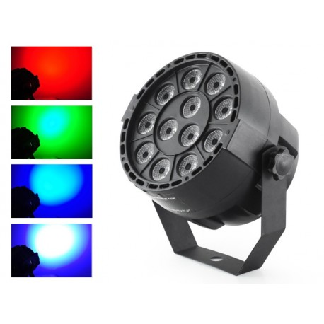 LED PAR 36 12x3W RGBW DMX
