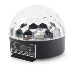 Efekt dyskotekowy KULA LED MAGIC BALL 6x3W RGBWY DMX